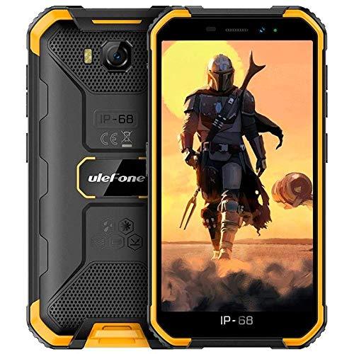 "Ulefone Smartphone Armor X6 Orange 3G/5.0"" HD/OC 1.3GHZ/16GB ROM/2GB RAM/5MP/4000MHA/IP68"