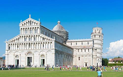 Puzzle 1500 Piezas Educa Rompecabezas Para Adultos De Madera 3D Clásico Torre Inclinada De Pisa Coleccionables Diy Decoración Casera Moderna 87X57Cm