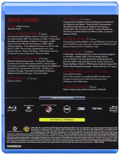 The Stanley Kubrick Collection  (8 Blu-Ray) [Edizione: Regno Unito] [Reino Unido] [Blu-ray]