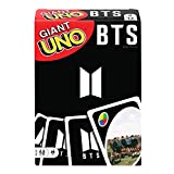 Giant UNO BTS Card Game with 108 Cards Based on BTS Global Superstars Global Boy Band, Gift for Boys and Girls Age 7 Years & Older