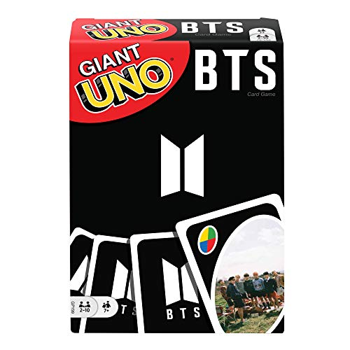 UNO Giant BTS Card Game with 108 Cards