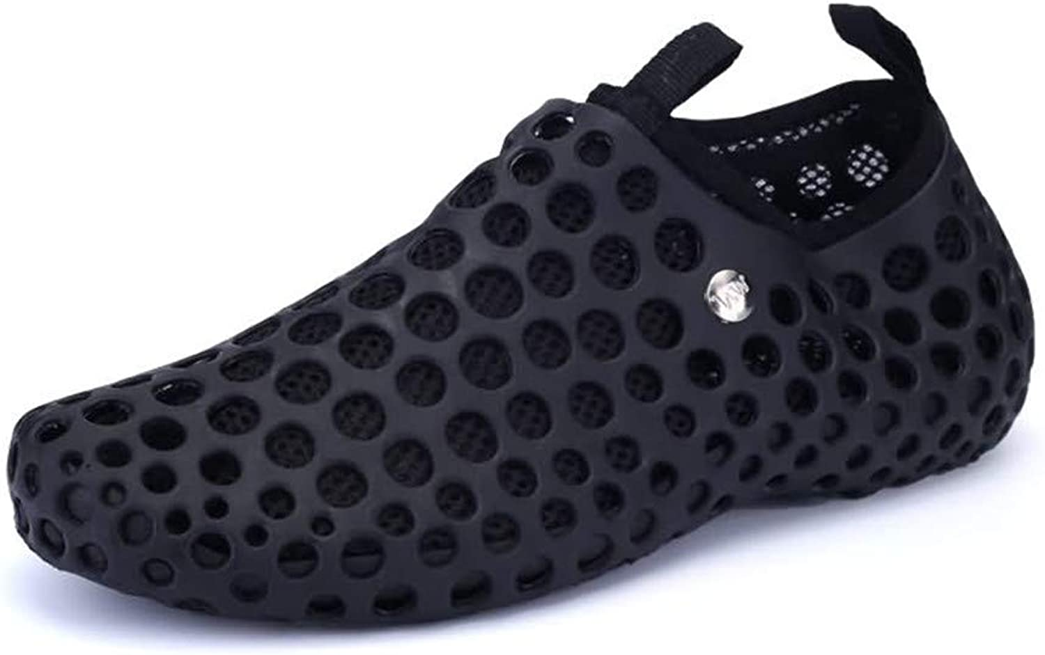Mens shoes Women and Men's Lightweight Breathable Slippers Quick-Drying Water shoes Non-Slip Round Head Garden Clogs Sandals for Summer Casual