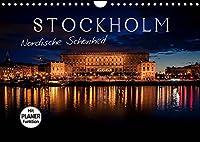 Stockholm - Nordische Schoenheit (Wandkalender 2022 DIN A4 quer): Die Stadt der Inseln (Geburtstagskalender, 14 Seiten )