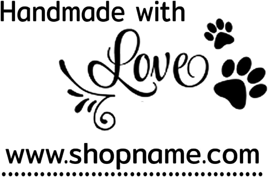 Personalized Business Stamp Custom paw Direct store Dog Ranking TOP13 Signature pet