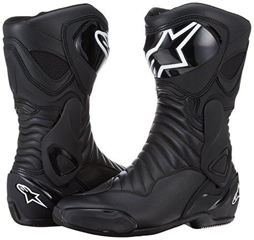 Alpinestars Men's SMX-6 v2 Street Motorcycle Boot, Black, 42