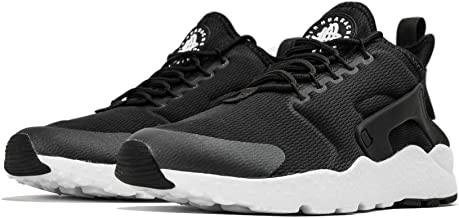 Nike Women's Air Huarache Run Ultra (Black/White) (12)
