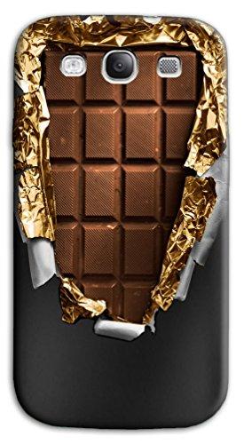Mixroom - Cover Custodia Case in TPU Silicone Morbida per Samsung Galaxy S3 Neo i9301 i9300 Y386 Tavoletta di Cioccolata