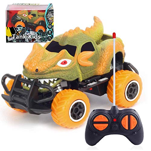 Tank Kids Remote Control Car for Boys Toys Age 3-6, RC Car Toys for 4-5 Year Old Boys with Full Functions, Best Gifts for Kids 1:43 Scale