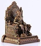 Rachana creation Chhatrapati Shivaji Maharaj Statue for Home Decor/Office Decor/Occasions (Small Size, Polyurethane)