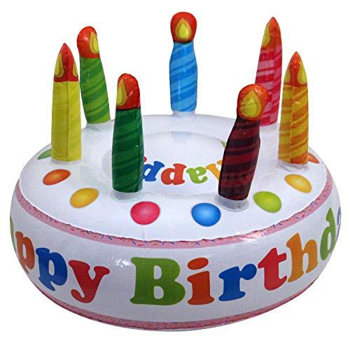 Preis am Stiel 'Precio en el Palo Hinchable para Tartas Happy Birthday | Cumpleaños Decoración Tarta de Cumpleaños | Regalo | Cumpleaños Infantiles | | Regalo para Novia