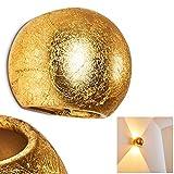 Aplique Flot cerámico dorado - Aplique para salón - pasillo - dormitorio