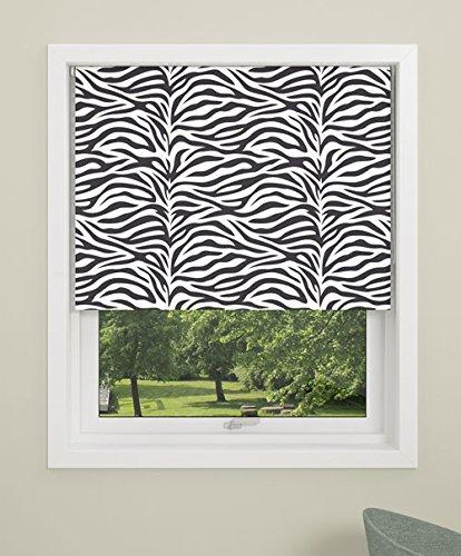 debel 120 x 175 cm, 100% poliéster Zebra Estor Opaco Enroll