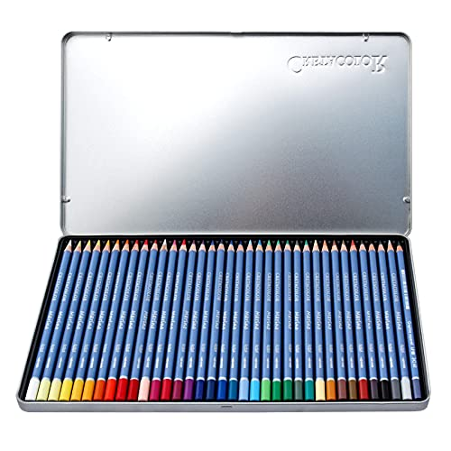 CRETA COLOR Cretacolor 240 36 Marino Watercolour Pencils Pack of 36 Wooden, STK, Multi-Coloured