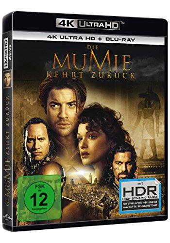 Die Mumie kehrt zurück (4K Ultra HD) (+ Blu-ray)
