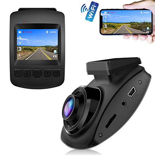 【2019 New Version】 Dash Cam, CHORTAU Dash Cam WiFi Sony Sensor Full HD 1080P, Dashboard Camera for Car 2 Inch Screen 170° Wide Angle, Car Camera with Loop Recording, Parking Monitor, Motion Detection