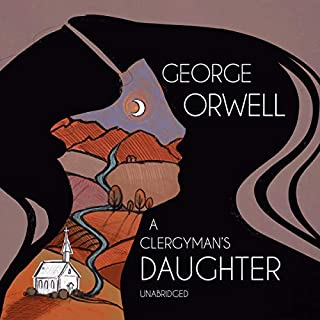 A Clergyman's Daughter audiobook cover art