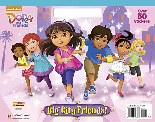 [(Big City Friends! (Dora and Friends))] [By (author) Golden Books ] published on (January, 2015)