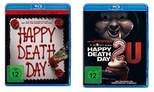 Happy Deathday (2U) 1 + 2 im Set - Deutsche Originalware [2 Blu-rays]