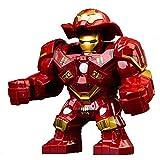DEERO Personaje de Gran tamaño Capitán América Thor Iron Man Dr Strange Loki Hulk Thor Thanos Dealpool Modelo Figura Bloques Juguetes para niños (Hulkbuster)