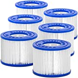 SUNSET FILTERS Type VI Spa Filter Replacement Cartridge - for SaluSpa, Lay-Z-Spa (6-Pack)