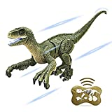 Remote Control Dinosaur Toys for Kids 2.4 GHz RC Dinosaur with LED Light and Roaring Sounds Remote Control Figure for Boys 6 7 8 9 10 Years Old
