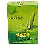 Hesh - Maka Bhringaraj Pulver - StärkendePflege für volles, gesund aussehendes Haar - Bei Haarausfall und lichtem Haar - Wirkt tonisierend und stärkend - Zur Grauabdeckung