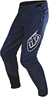 Sprint Solid Youth Off-Road BMX Cycling Pants - Navy / 28