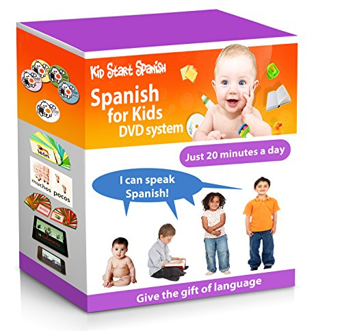 SPANISH FOR KIDS: Early Language Learning System (Spanish in just 20 minutes) Kid Start Spanish - 4...