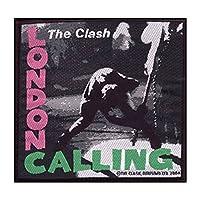 The Clash London Calling 公式 Patch (10Cm X 10Cm) Size Accessory Size