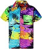 V.H.O. Funky Camicia Hawaiana, Mondy Surf, Multicolore, M