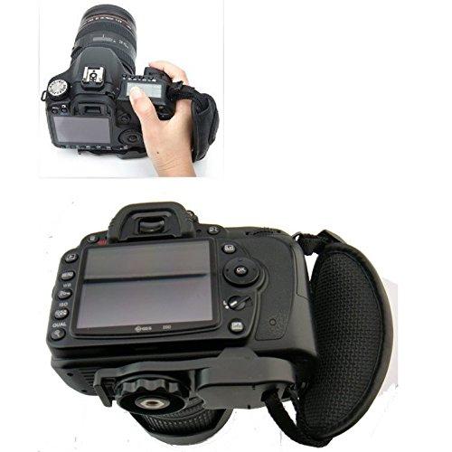 Flycoo - Correa de muñeca para cámara de fotos digital Canon Pentax Minolta Canon EOS 700D, 100D y Nikon D3300, D5300, Pentax y DSLR