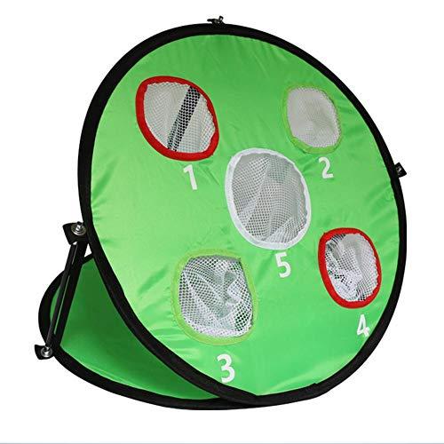 Blessvt Golf Chipping Practice Net - Red de entrenamiento para deportes de interior y exterior