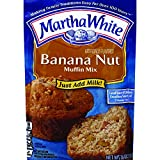 Martha White Banana Nut Muffin Mix, 7.6 Ounce (Pack of 12)