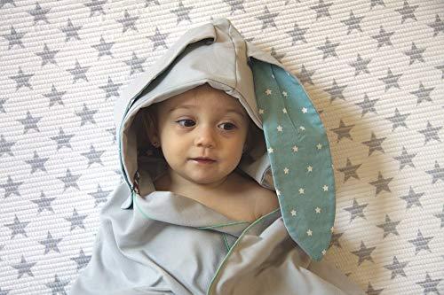 Little Champions Autonomy Bunny Stars Mini cape de bain