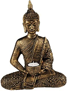 Something Different Grande Thai Buda té luz Ornament, Color