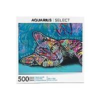 Aquarius ディーン・ルッソ 猫パズル (500ピースジグソーパズル) - グレアフリー - 精密フィット - ほぼパズルダストなし - 公式ライセンスディーン・ルッソ商品&コレクティブル - 16 x 20インチ
