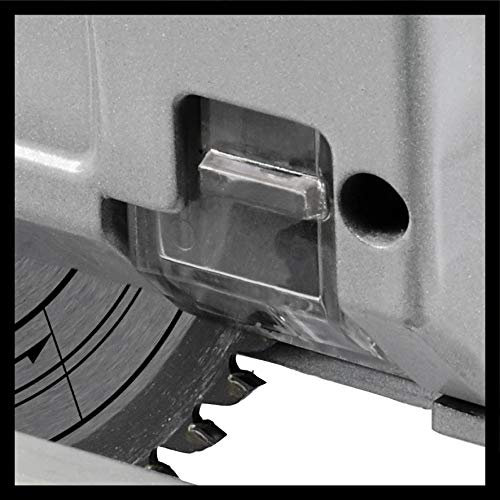Einhell Scie plongeante TE-PS 165 (1200 W, Diamètre de lame : 165mm, 48 dents, lame HW/TCT, profondeur de coupe : 56 mm, réglage sans outil, Livré avec accessoires)