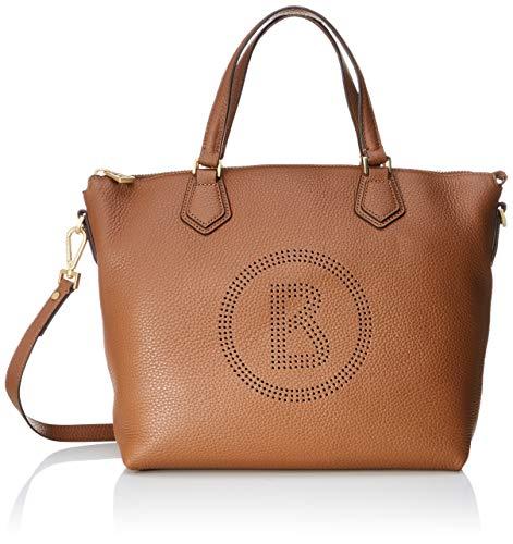 Bogner Damen Sulden Nele Handbag Lhz Henkeltasche, Braun (Cognac), 15x28x39 cm