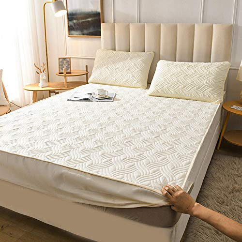 GTWOZNB Comfortable Sheets Machine Washable Breathable Fabric Bed sheet single piece cotton thickening-15_150*200cm