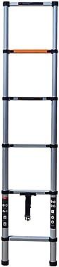YiHai 6.9 FT Portable Aluminum Telescoping Ladder Extension Telescopic Step Ladder Compact Loft Ladders