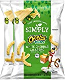 Cheetos Puffs Simply White Cheddar Jalapeño...