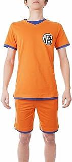Pijama de Son Goku   Pijama de Verano para Fans de Dragon Ball   Tallas: L - XL