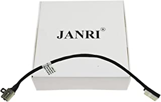 JANRI Replacement BA30 DC30100YN00 DC30100ZM00 R6RKM 0R6RK POWER JACK PORT SOCKET HARNESS CONNECTOR CHARGING PLUG DC IN CABLE for Dell Inspiron 15 5565 5567 I5567-4563GRY I5567-1836GRY Inspiron 17 576