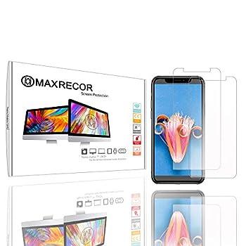 Screen Protector Designed for Alpine INE-W960 in-Dash - Maxrecor Nano Matrix Anti-Glare  Dual Pack Bundle
