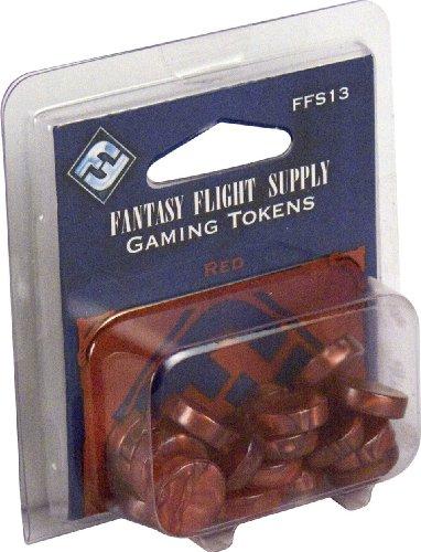 Fantasy Flight Supply: Red Gaming Tokens