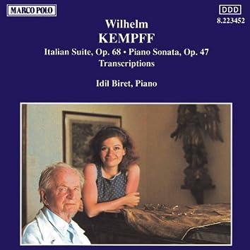 Kempff: Italian Suite / Piano Sonata / Transcriptions