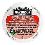 Martinson Single Serve Coffee Capsules, Cayman Coconut,...