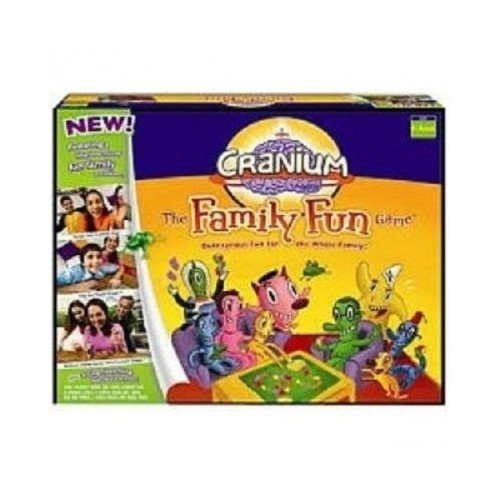 Cranium The Family Fun Game Outrageous Fun For the Whole Family 8 to Adult