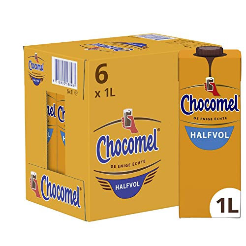 Chocomel Chocolademelk Halfvol 6 x 1 L