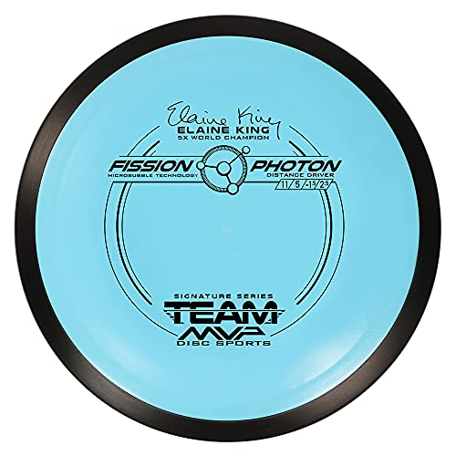MVP Disc Sports Fission Photon Disc Golf Driver (145-149g / Colors May Vary)